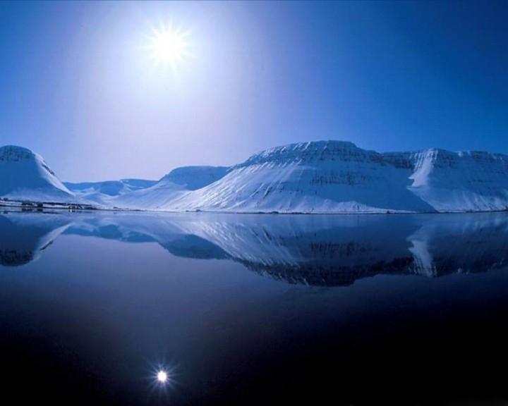 Исландия - льды