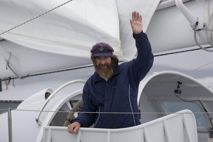 Федор Конюхов на яхте