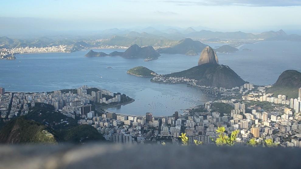 Рио-де-Жанейро. Вид на Сахарную голову и бухту