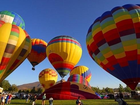 А вам никогда не хотелось полетать на воздушном шаре? ;)