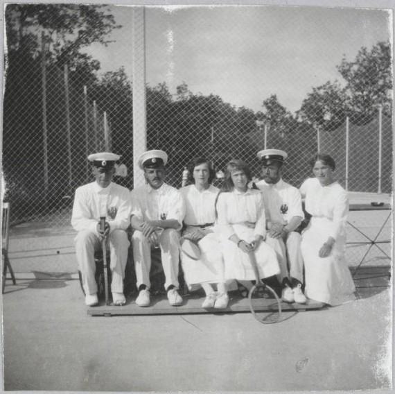 Ретро теннис ))