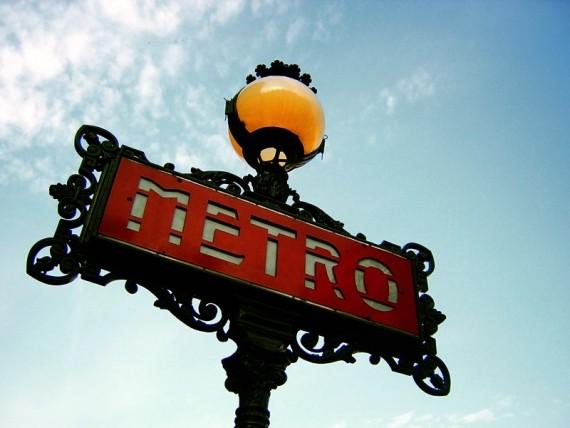 Парижский метрополитен ))