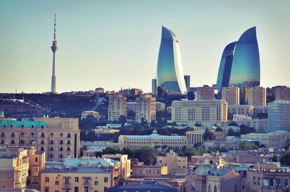 Баку с высоты