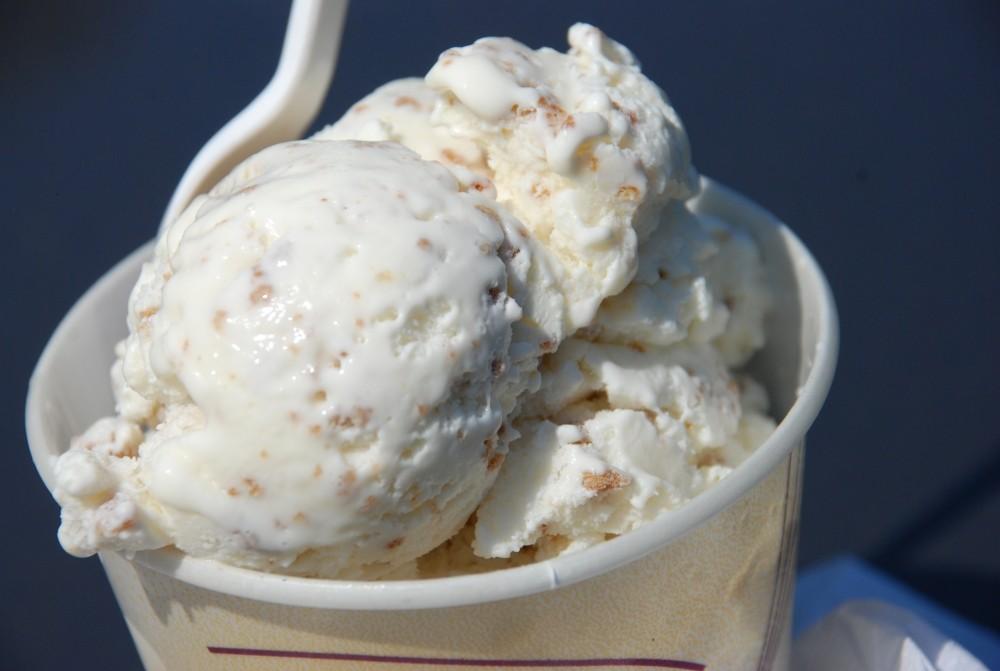 Мороженое со злаками