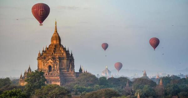 Best destinations for balloon rides