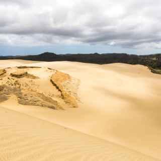 Песчаные дюны Те Паки
