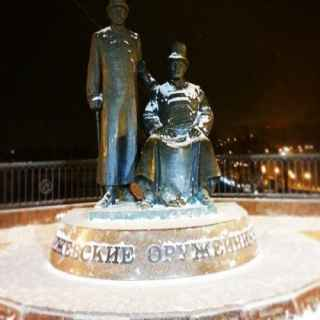 Monument of Izhevsk gunsmiths