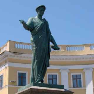 Statue of the Duc de Richelieu