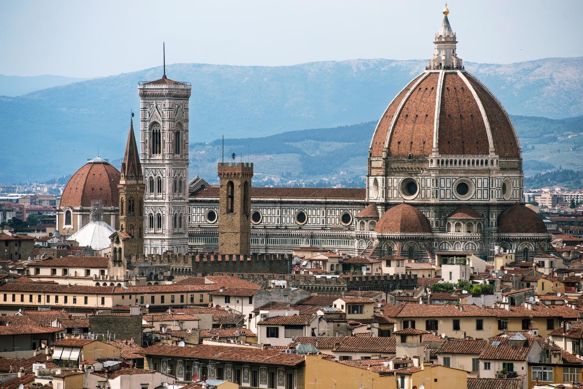 Флорентийский собор во всей красе.