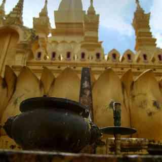Тхат Луанг — главная достопримечательность Вьентьяна.