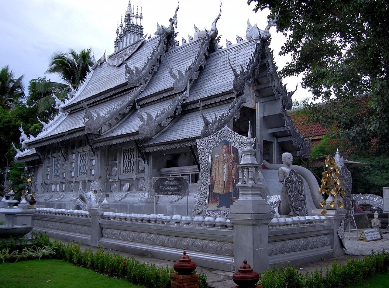 Серебряный храм в Чианг Мае.