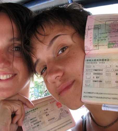 Китайская виза в Бангкоке получена! Ура, товарищи!