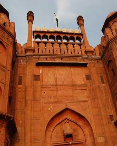Красный Форт в Дели.