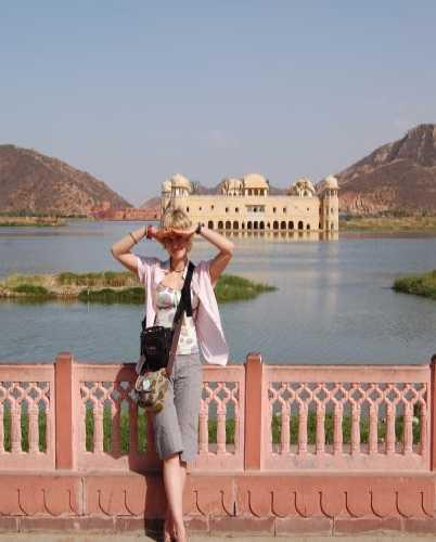 Джал Махал — джайпурский дворец на воде.