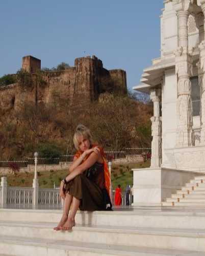 Мой любимый храм в Джайпуре — Бирла Мандир.