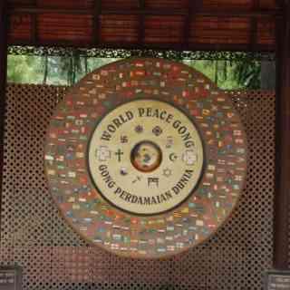 Гонг Мира в музее Махатмы Ганди в Дели.
