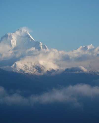 Вид на Дхаулагири — мой любимый из непальских восьмитысячников.
