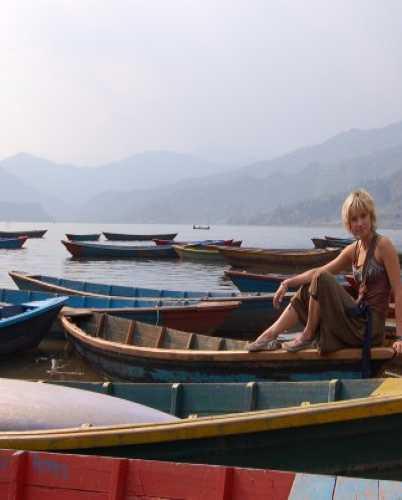 Лодочки-лодочки-лодочки на озере Пхева.