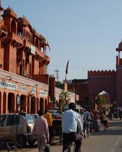 «Розовый город» Джайпура.