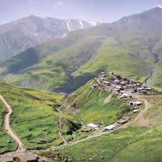 Хыналыг — удивительная деревушка в горах Азербайджана вдали от какой бы то ни было цивилизации.