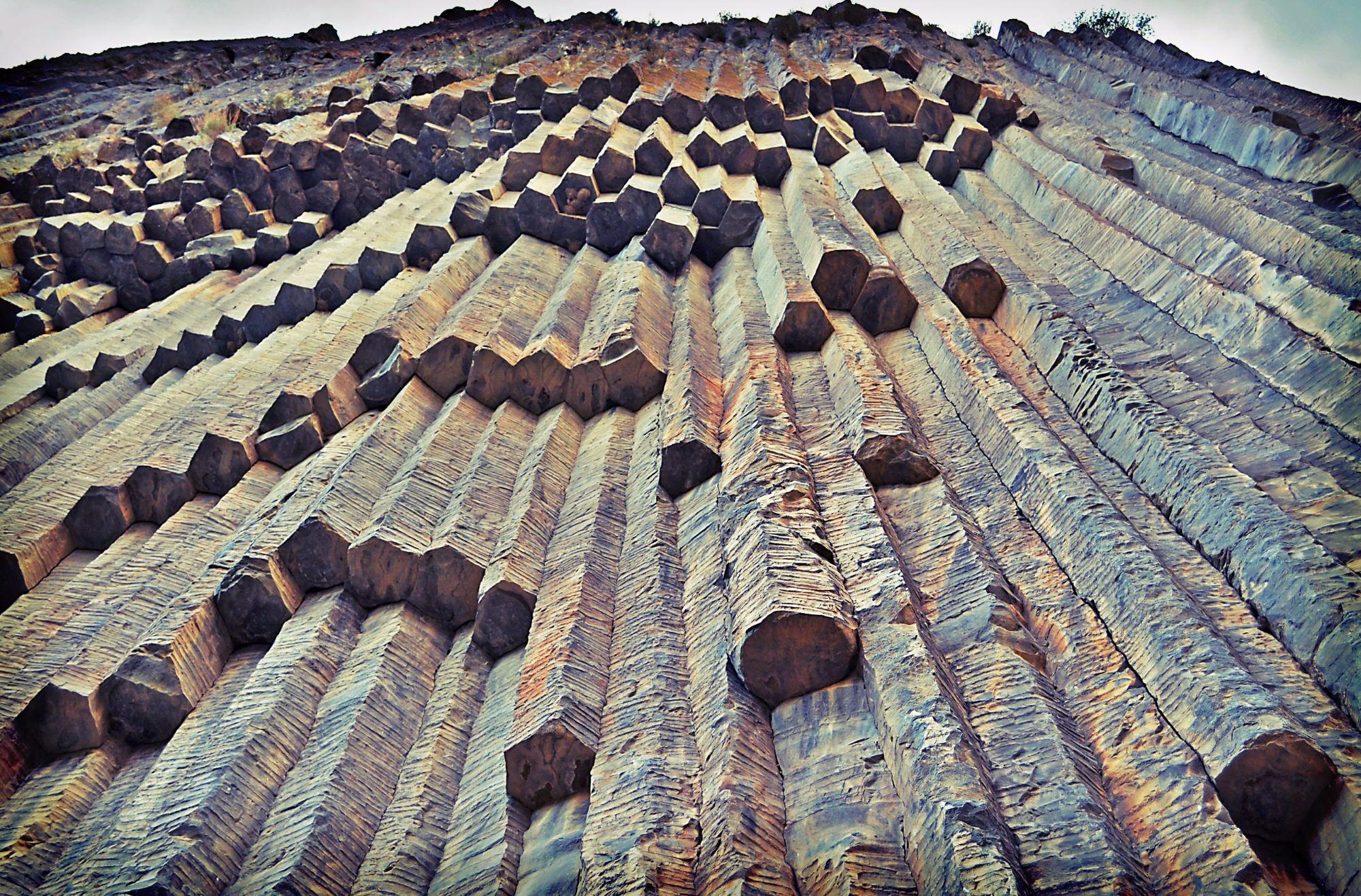 Удивительные скальные образования Армении.