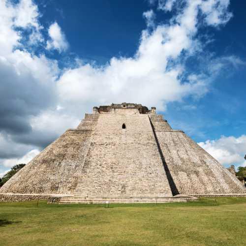 Древний майянский комплекс Ушмаль недалеко от города Мерида.