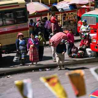 Веселый хаос гватемальского городка Кетсальтенанго.