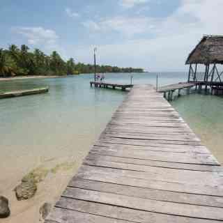 Настоящие пляжи с картинки на островах Бокас дель Торо в Панаме.
