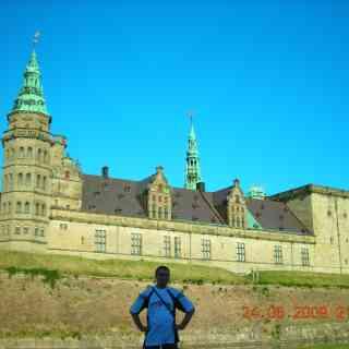 Замок Кронборг, известный как замок принца Гамлета
