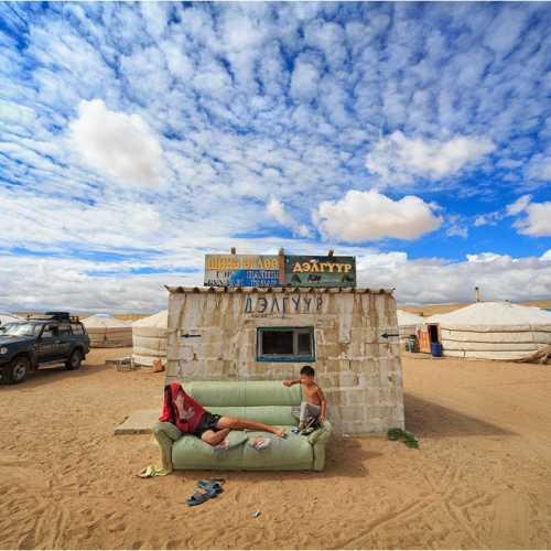 Магазин в пустыне Гоби