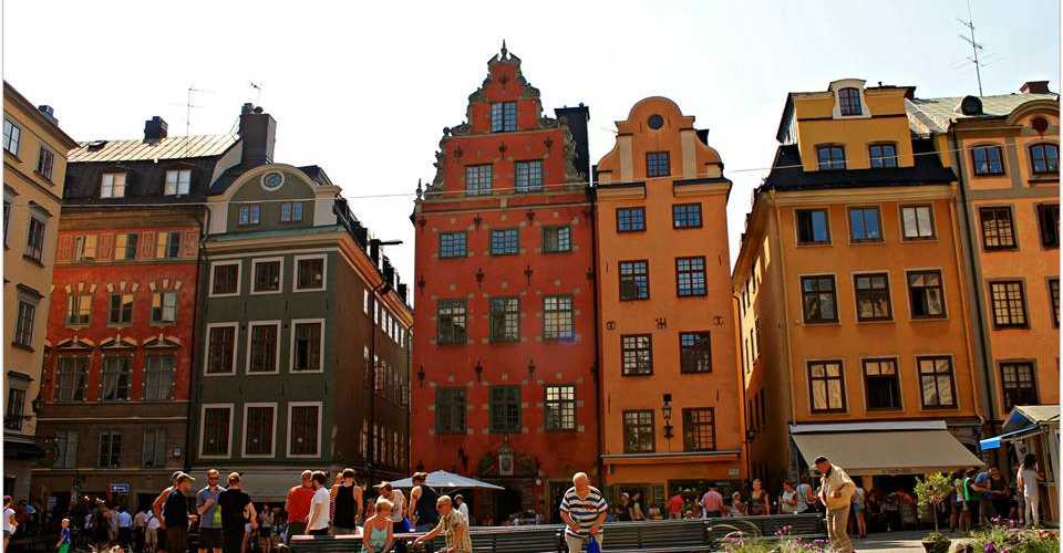 Швеция фото