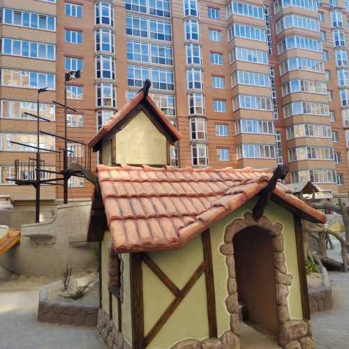 near «Karat Building» (Irpin, Ukraine)