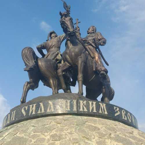 Пам'ятник Максиму Залізняку і Івану Ґонті (Умань, Україна)