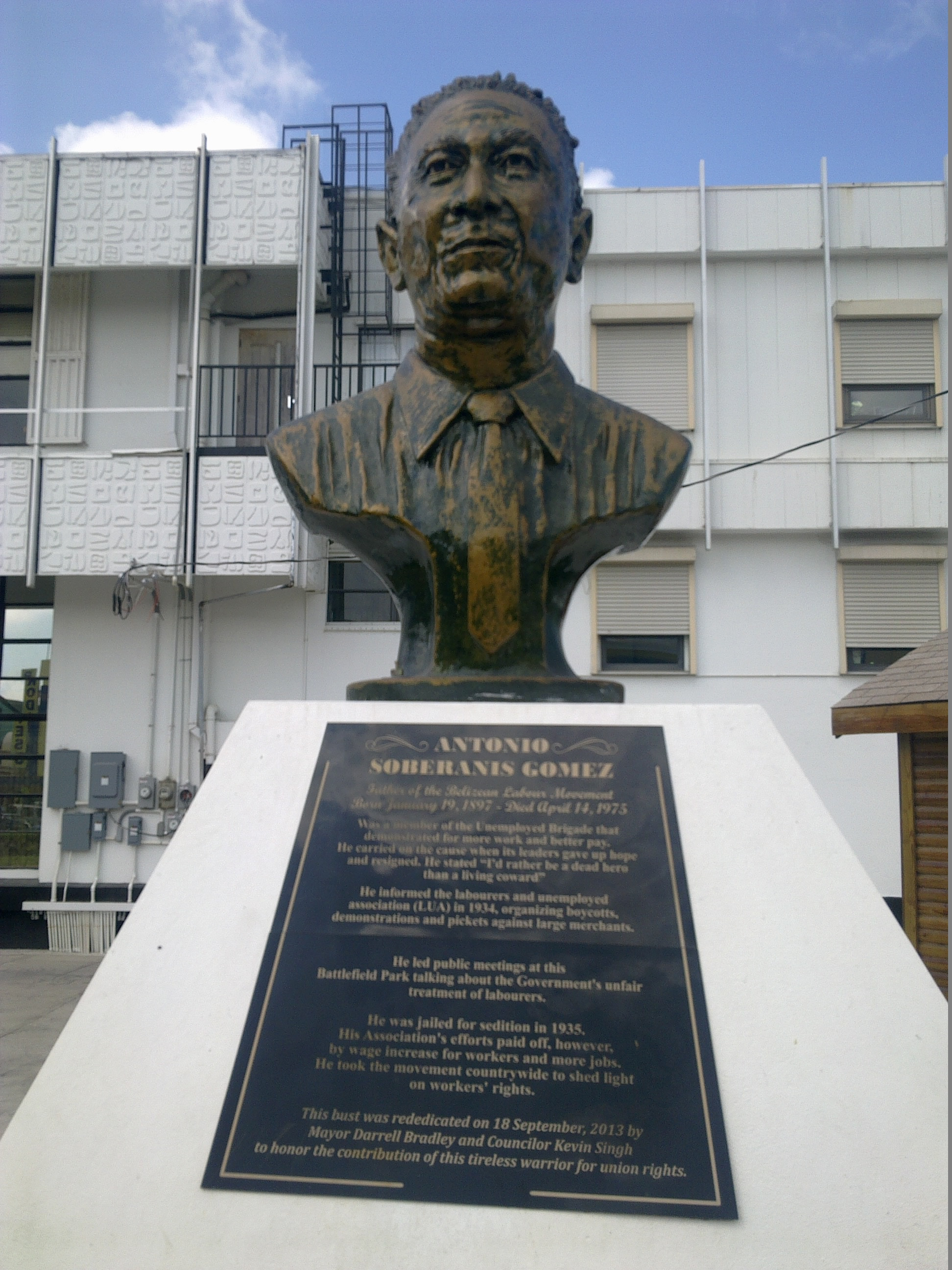 Antonio Soberanis Gómez (Belize City)
