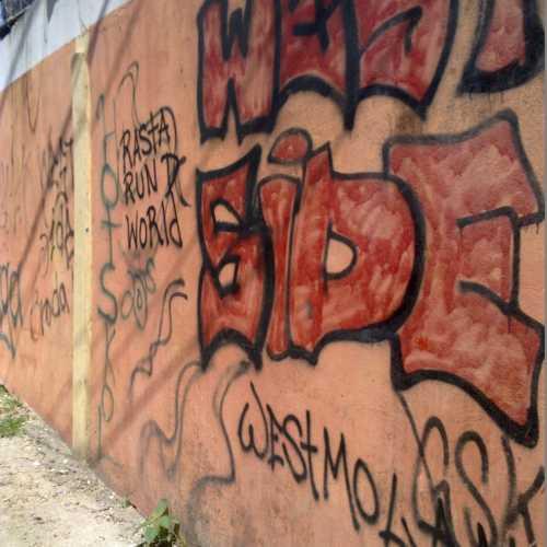 Graffiti at danger street… (Belize City)