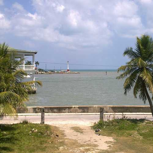 view from the window «Seaside Guest House» (Belize City)