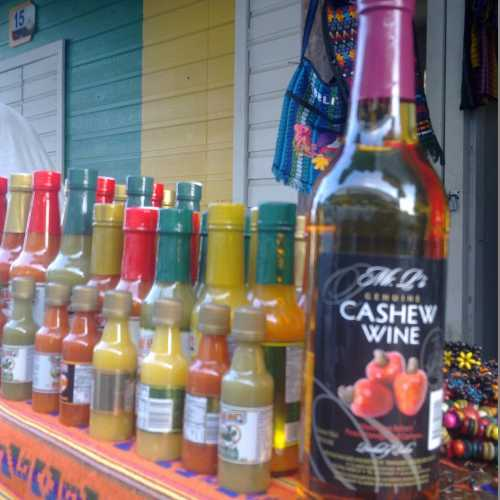 Cashew wine (Belize City)