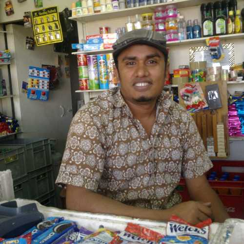 Amin from Bagladesh (Belize City)