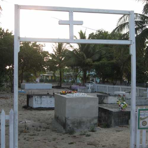 Cementery in Placencia, Belize