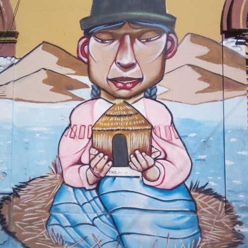 Street-art in Cochabamba (Bolivia)