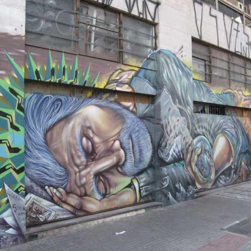 Street Art in Sao Paulo, Brazil