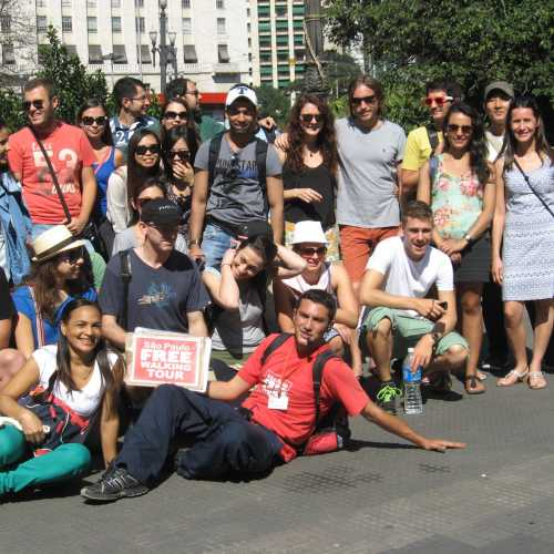 Free walking tour in Sao Paolo (Brazil)