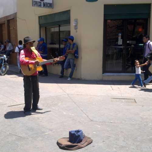 street-music (Tugucigalpa, Honduras)