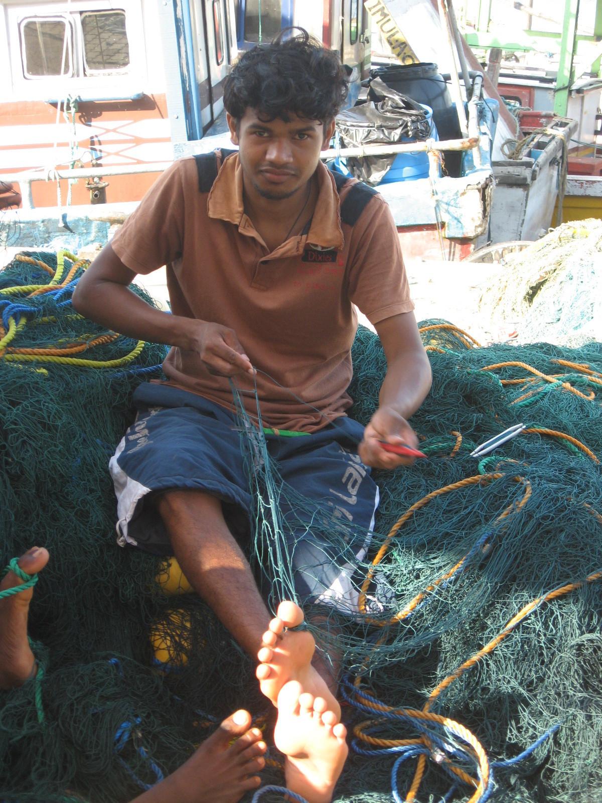 Mirissa Fishing Harbour (Sri Lanka) 2009
