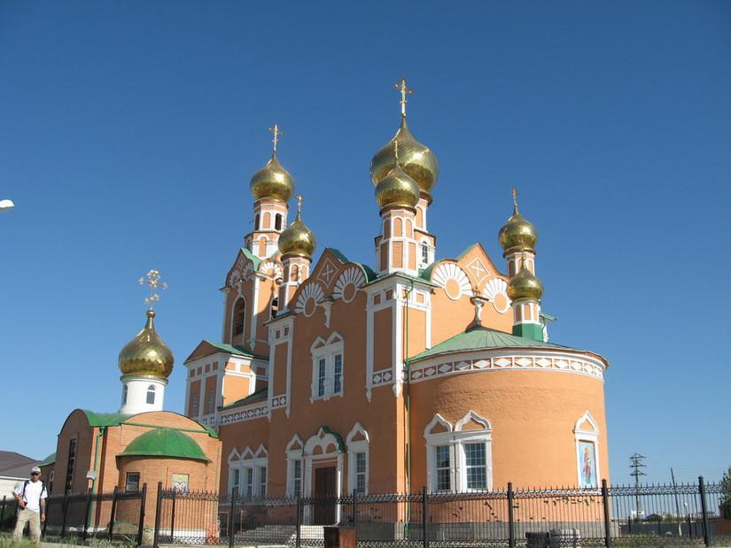 Храм успения Божьей Матери (Атырау, Казахстан)
