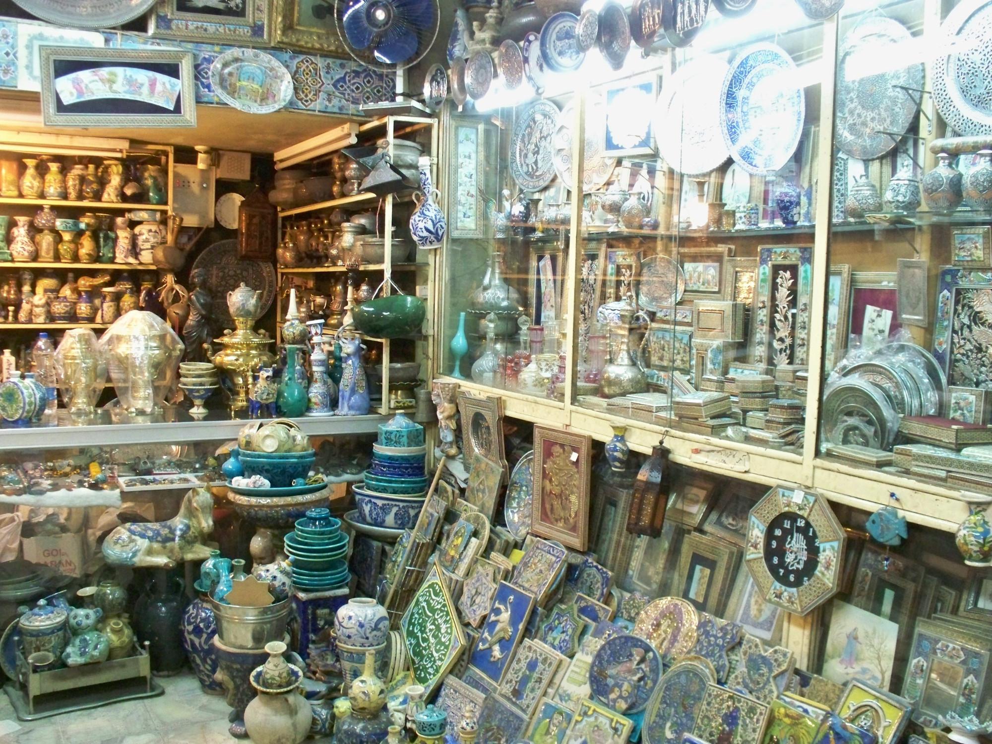 Isaak Antique Shop (Esfahan, Iran)