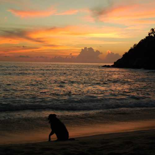 Sunset in Puerto Escondido (Oaxaca, Mexico)