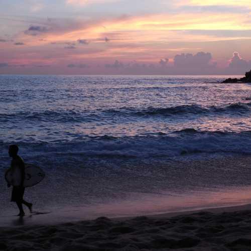 Sunset at Puerto Escondido (Oaxaca, Mexico)