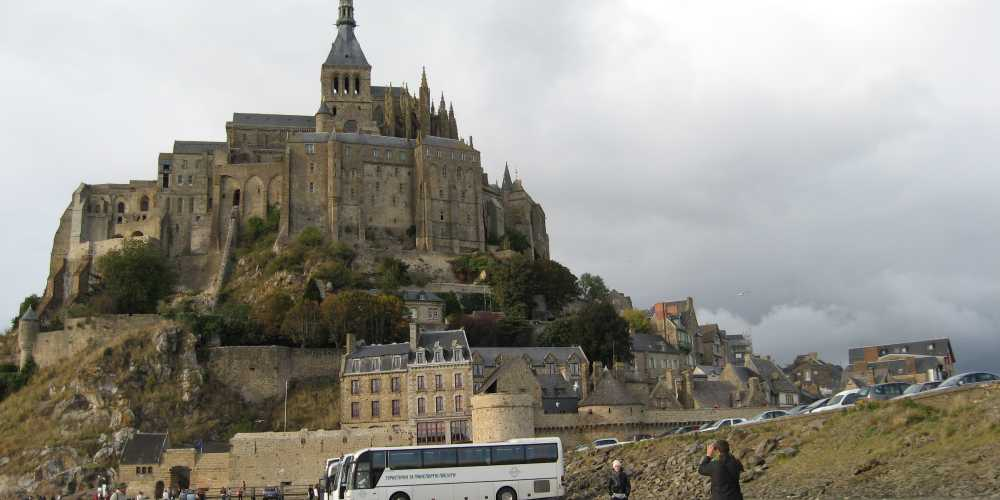 Монастырь-крепость Мон-Сен-Мишель