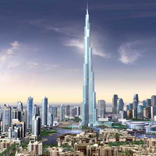 Дубай. Бурж Халифа